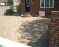 driveway paving - after work completed