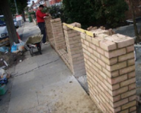 walling / brickwork