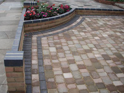 customer enquiry for walling and driveways block paving