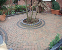 block paving, walling and edging