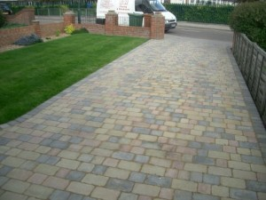 customer enquiry for patios & driveway paving Lewisham