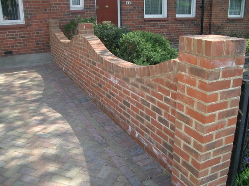 driveway paving and walling