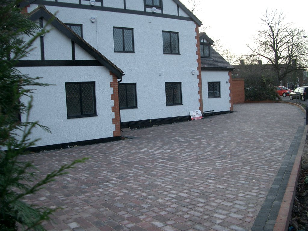 driveway paving - Bickley, Slade Green and Hither Green.